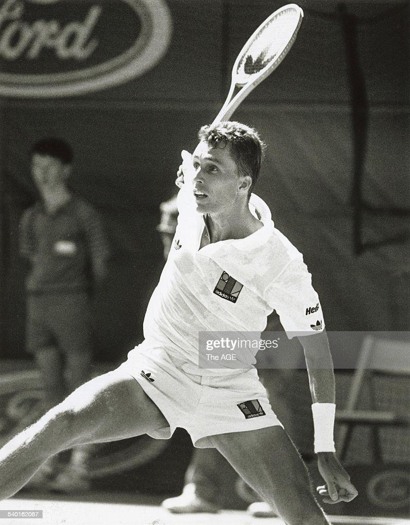 The Age of Tennis Australian Open Tennis Ivan Lendl unwinds a