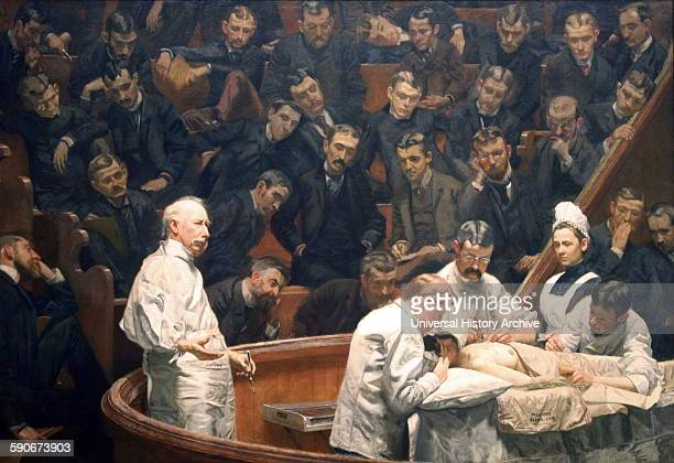 The Agnew Clinic or The Clinic of Dr Agnew is an 1889 oil painting by American artist Thomas Eakins 18441916 It was commissioned to honour anatomist...