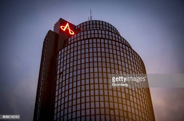 The Agrokor dd headquarters office stands in Zagreb Croatia on Monday June 12 2017 Croatian retailer Agrokor secured a new loan of 530 million euros...