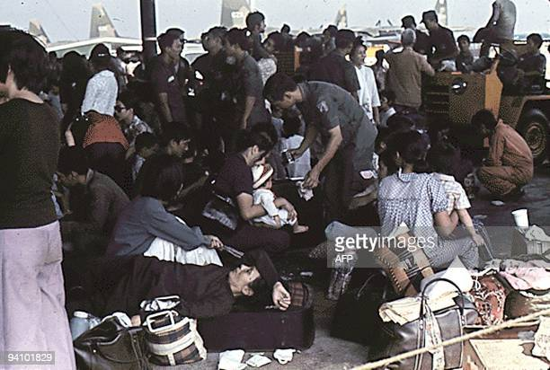 The air evacuation of siegestricken Vietnamese from Saigon to the US was conducted after the Babylift operation Vietnamese militants and civilians...