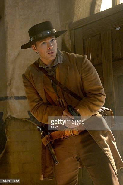TIMELESS 'The Alamo' Episode 104 Pictured Matt Lanter as Wyatt Logan