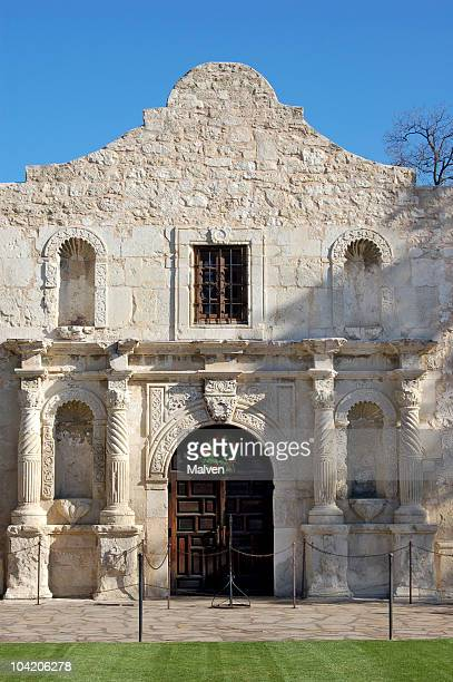 The Alamo in early evening