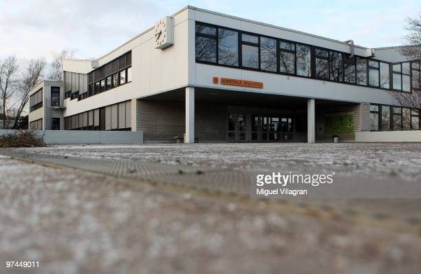 The Albertville School is pictured on March 5 2010 in Winnenden Germany Tim Kretschmer opened fire on teachers and pupils at his former school on...