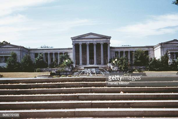 The AlbrightKnox Art Gallery in Buffalo New York State USA circa 1965
