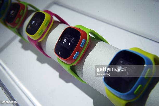 The Alcatel CareTime kid's smartwatch which equip with its own SIM card for children to call for help with the five preset numbers their parents...