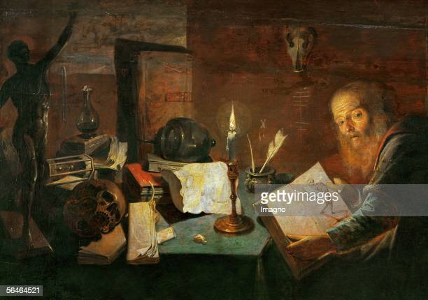 The Alchemist David Ryckaert III [Der Alchimist David Ryckaert III]