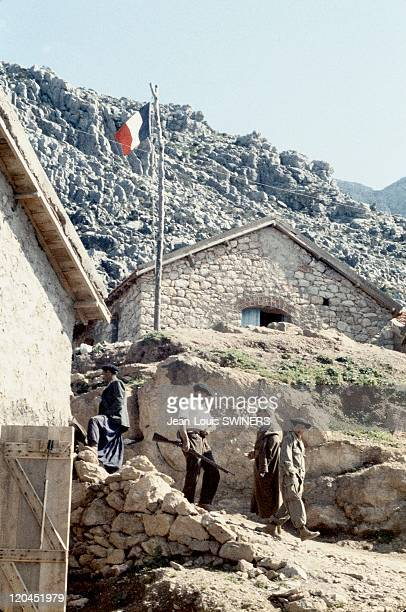 The Algerian War French military camp in Algeria in 1959 Algerians committed in French army against autonomists