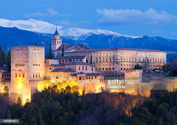 The Alhambra From Granada, Spain