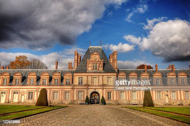 The Alleys of Fontainebleau Castle