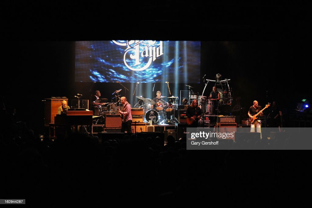 The Allman Brothers band perform at the Beacon Theatre on March 1, 2013 in New York City.