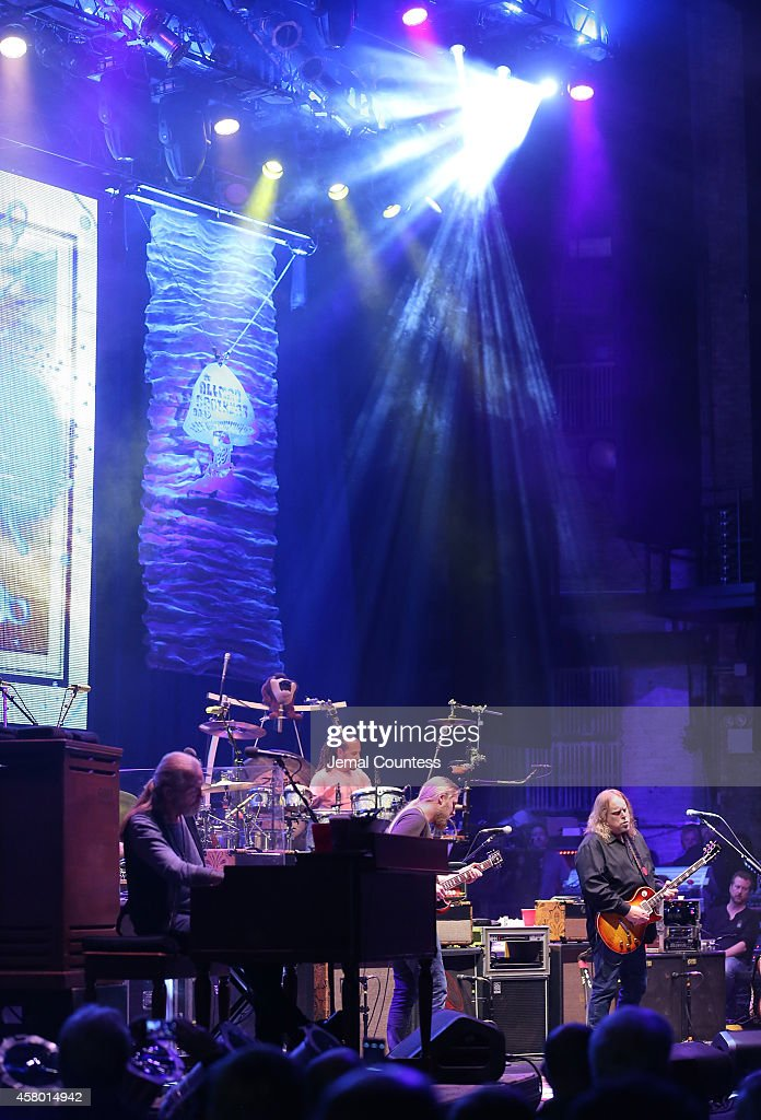 The Allman Brothers Band performs at The Beacon Theatre on October 28, 2014 in New York City.