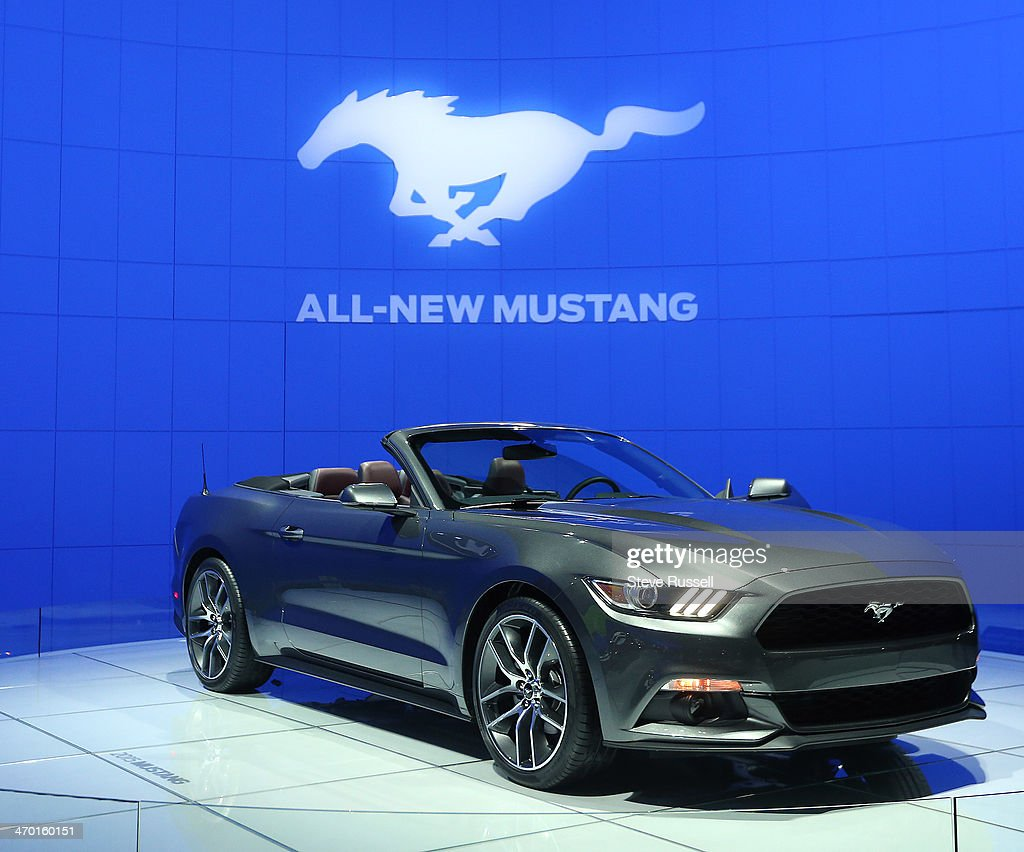 TORONTO, ON- FEBRUARY 18 - The All-New 2015 Ford Mustang at the Canadian International Auto Show at the Metro Toronto Convention Centre In Toronto. February 18, 2014.