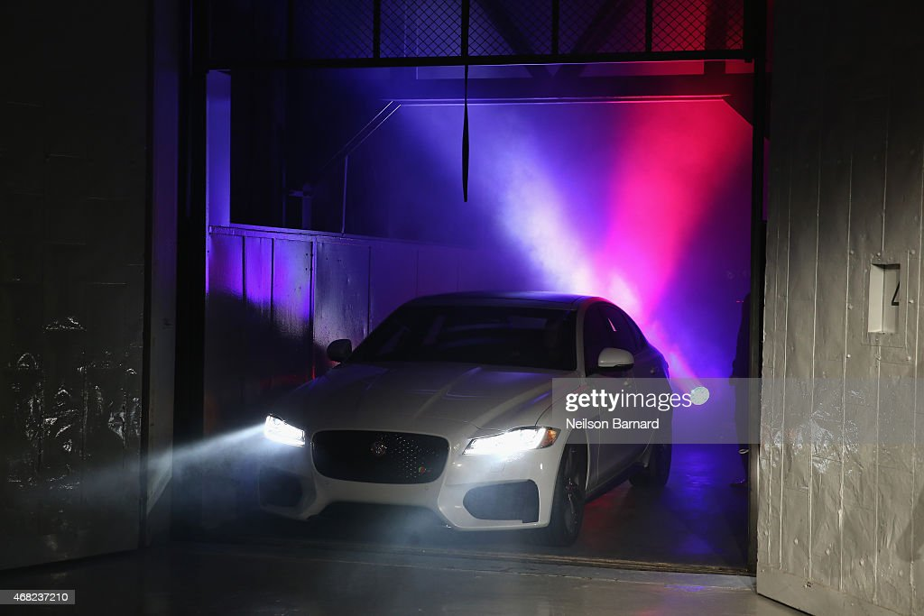 The all-new 2016 Jaguar XF was unveiled at Jaguar Land Rover's exclusive reception to celebrate the 2015 New York International Auto Show at Center548 on March 31, 2015 in New York City.