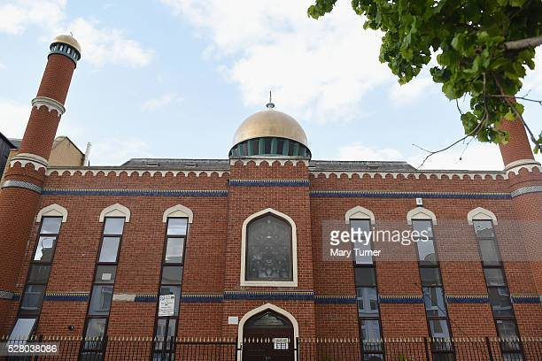 The AlMuzzamil mosque which is attended by London mayoral candidate Sadiq Khan in his constituency of Tooting pictured on May 3 2016 in London...