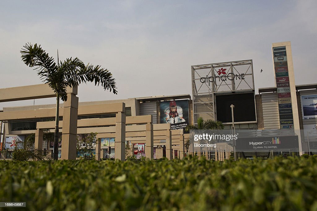 The AlphaOne shopping mall stands in Amritsar, India, on Thursday, May 9, 2013. India's consumer price index (CPI) for April rose 9.39 percent year on year, the Central Statistics Office said in a statement on its website. Photographer: Brent Lewin/Bloomberg via Getty Images