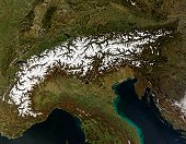 The Alps, March 13, 2007.