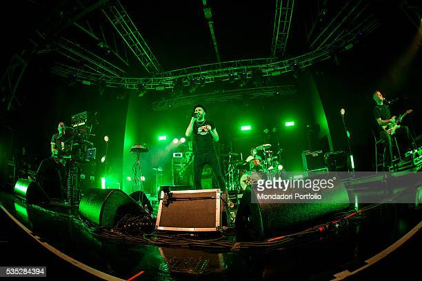 The alternative rock band Subsonica performing at the Fabrique Milan 24th February 2016