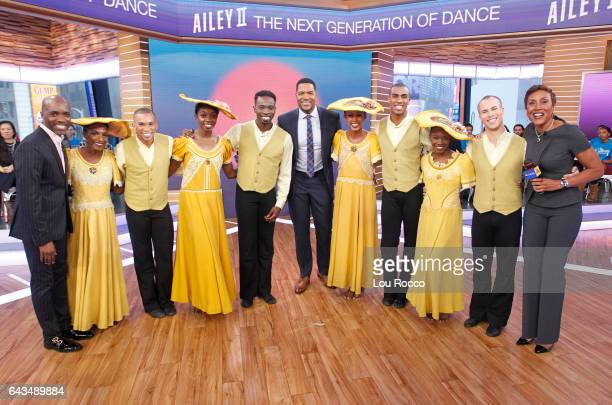 AMERICA The Alvin Ailey Dancers perform live on 'Good Morning America' Tuesday February 21 airing on the ABC Television Network {Photo by Lou...
