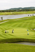 The Amata Spring Country Club The golf course is found amongst the numerous factories that litter the huge Amata Nakorn Industrial Estate