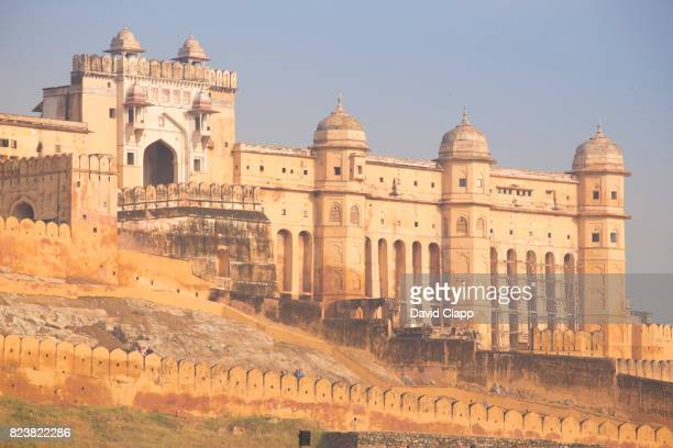 The Amber Fort, Jaipur, Rajasthan, India