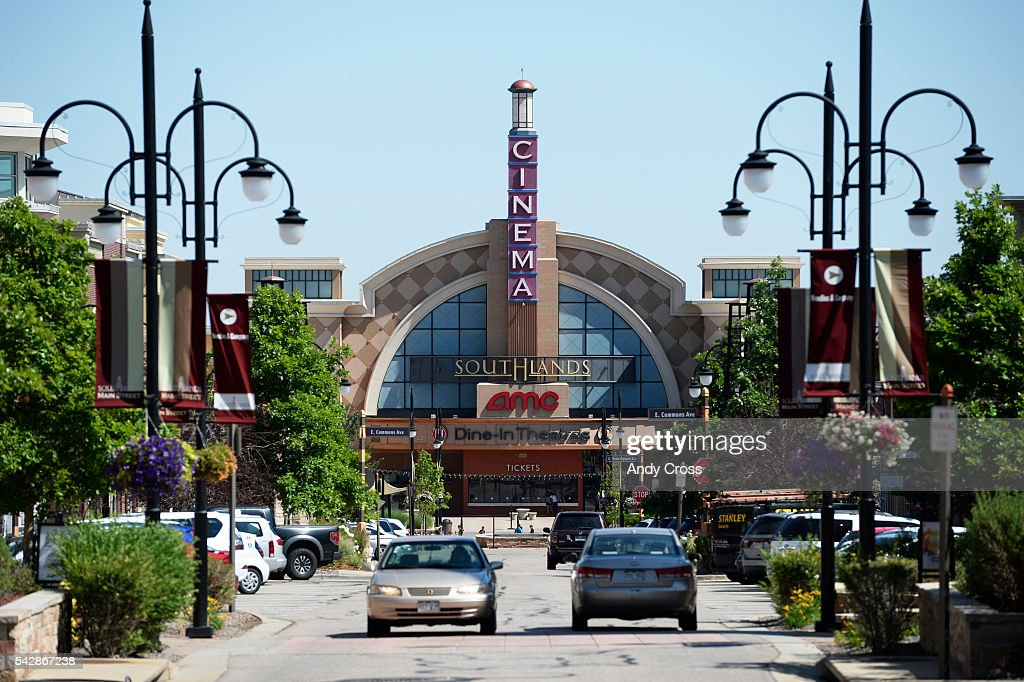 The AMC Cinema at Southlands Lifestyle Center outdoor mall June 24, 2016.