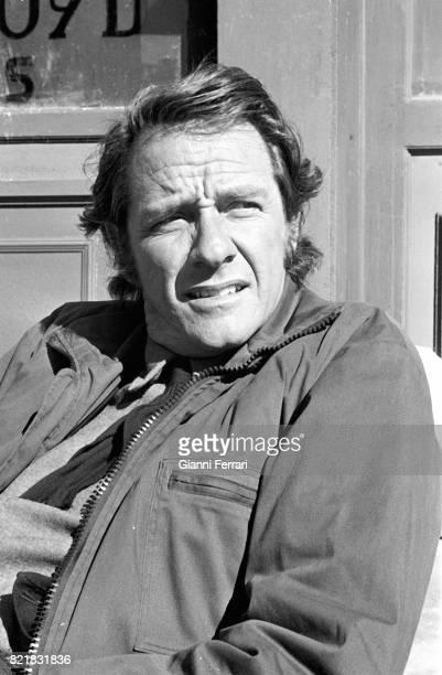 The American actor Richard Crenna Madrid Spain