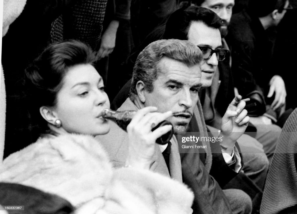 The American actress <a gi-track='captionPersonalityLinkClicked' href=/galleries/search?phrase=Esther+Williams&family=editorial&specificpeople=123838 ng-click='$event.stopPropagation()'>Esther Williams</a> and the Argentine Actor Fernando Lamas during their holidays in Palma de Mallorca, 15th February 1962, Balearic Islands, Spain.