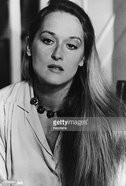 The American actress Meryl Streep