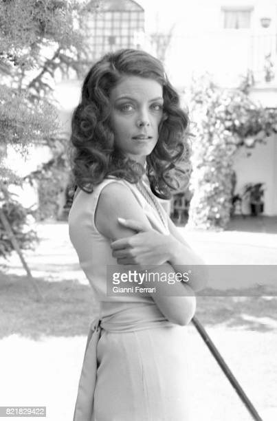 The American actress Patty Shepard Madrid Spain