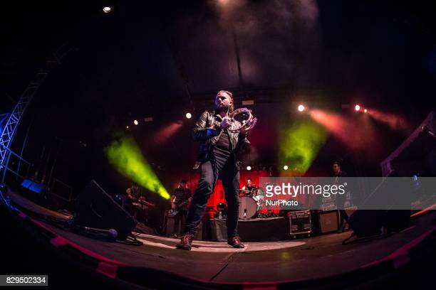 The american blues rock band Rival Sons performing live at Carroponte Milan Italy
