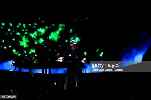 The American DJ Josh Davis better known as DJ Shadow presenting his new album ' The Mountain Will Fall' during the second day of Sonar Music Festival...