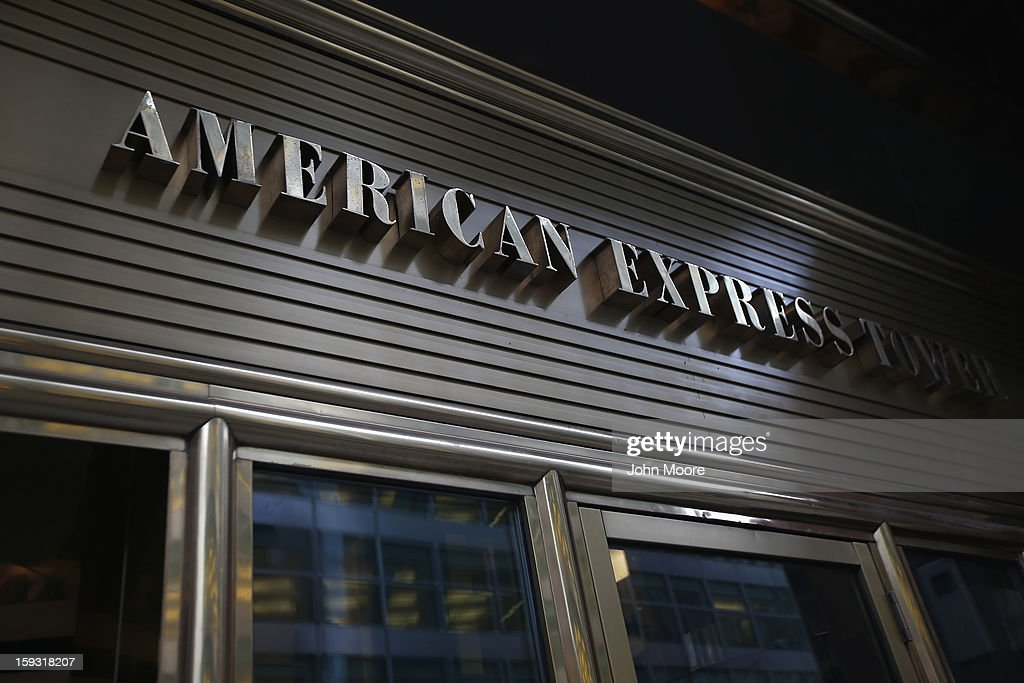 The American Express headquarters on January 11, 2013 in New York, New York. Following low fourth quarter earnings, the credit card giant announced plans to cut 5,400 jobs in the coming year.