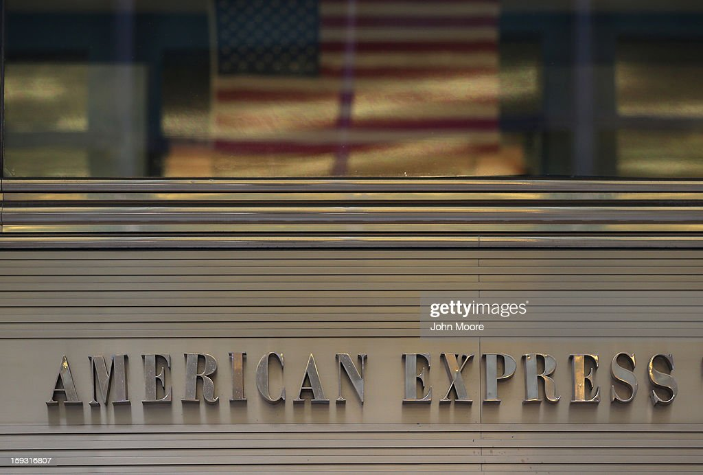 The American Express Tower at the World Financial Center on January 11, 2013 in New York, New York. Following low fourth quarter earnings, American Express announced plans to cut 5,400 jobs in the coming year.