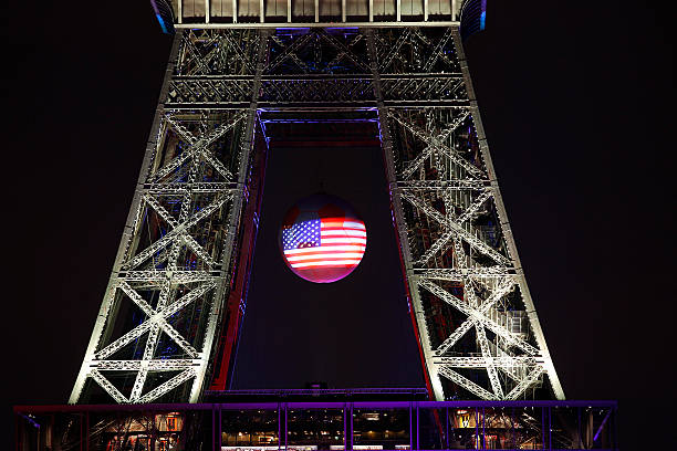 tribute to the orlando pulse club victims at the eiffel tower photos and images getty images. Black Bedroom Furniture Sets. Home Design Ideas