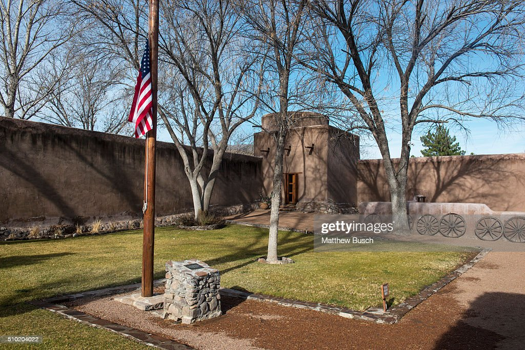 The American flag stands at half mast at Cibolo Creek Ranch where Supreme Court Justice Antonin Scalia spent the night before he was found dead in his room at the West Texas Resort ranch that stretches over 30,000 acres, February 14 , 2016 in Shafter, Texas. Justice Scalia was 79.