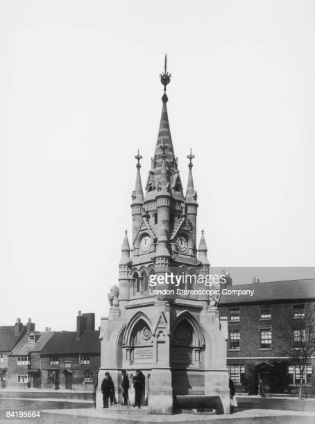 The American Fountain in StratforduponAvon Warwickshire circa 1890
