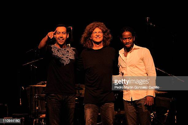 The American jazz musician Pat Metheny within the framework of the Festival of Mexico City He performed at the Teatro de la Ciudad accompanied on...