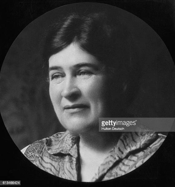 The American poet novelist and journalist Willa Cather author of One of Ours which won the Pulitzer prize