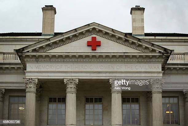 The American Red Cross National Headquarters is seen October 29 2014 in Washington DC An investigative story conducted by NPR revealed instead of...