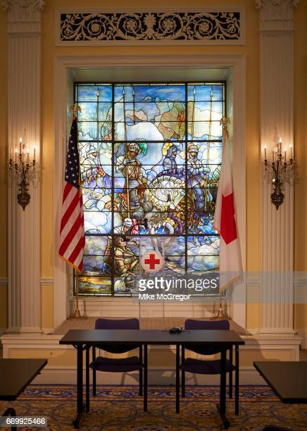 The American Red Cross office is photographed for Delta Sky Magazine on January 27 2017 in Washington DC ON EMBARGO UNTIL MAY 1 2017