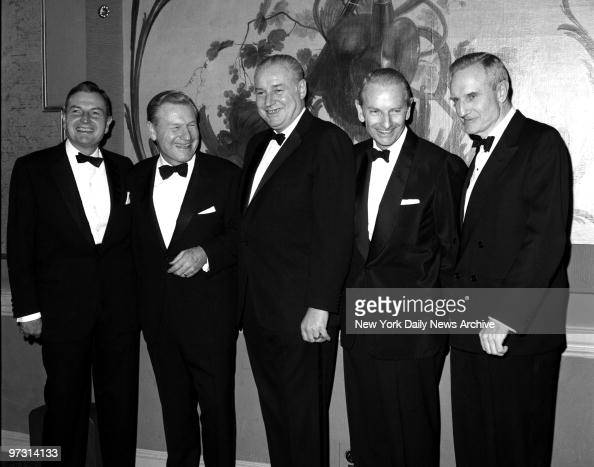 The American Rockys Five Rockefeller brothers get together for first time in seven years to be honored by National Institute of Social Sciences at...