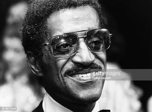 The American singer actor and dancer Sammy Davis Jr