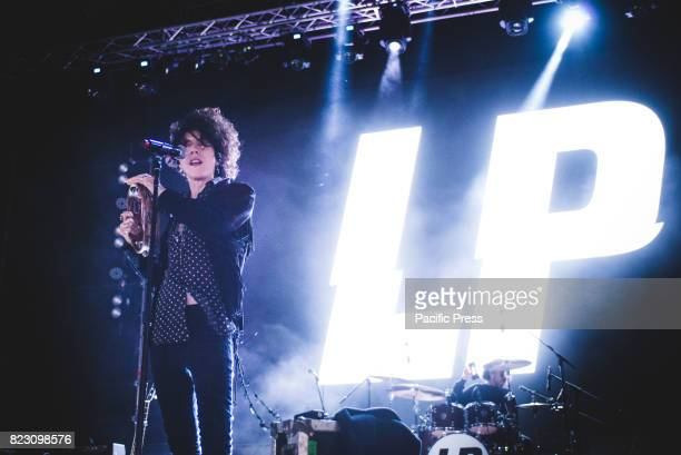 FESTIVAL GRUGLIASCO TORINO ITALY The American singer and songwriter Laura Pergolizzi performing live on stage at the Gruvillage Festival 2017 in...
