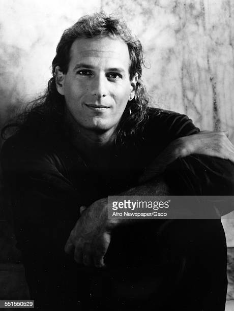 The American singer songwriter Michael Bolton in a publicity shot February 2 1980