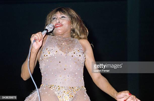 The American singer Tina Turner Madrid Spain
