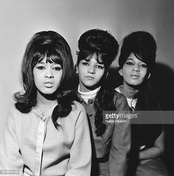 The American Sixties pop group The Ronettes