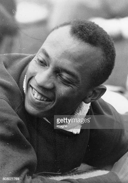 The American track and field athlete Jesse Owens 1936 Photograph