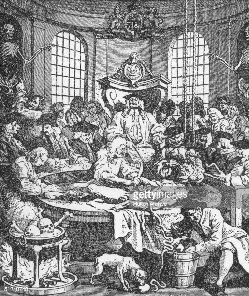 1751 The anatomical dissection of a convicted murderer takes place in the surgeon's hall In the 18th century only the bodies of executed criminals...