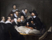 The Anatomy Lesson of Dr Nicolaes Tulp 1632 Artist Rembrandt van Rhijn