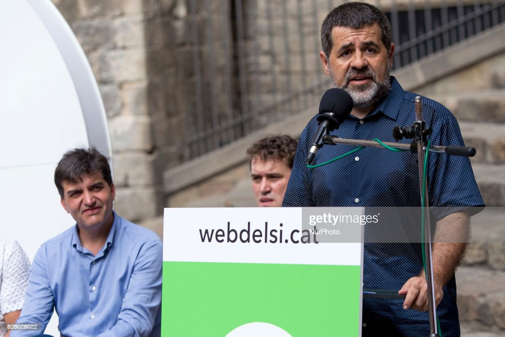 Catalan National Assembly presentes campaing for YES